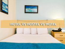 hotel vs motel vs hostel